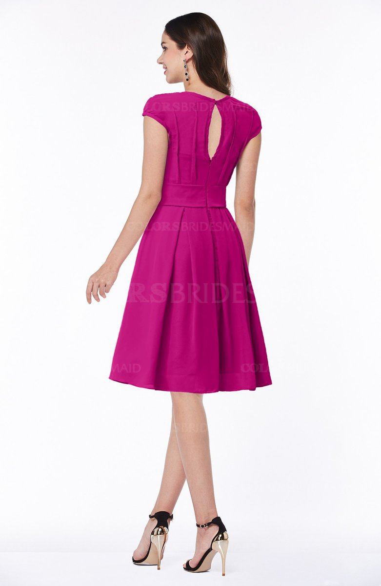 ColsBM Maya - Hot Pink Bridesmaid Dresses