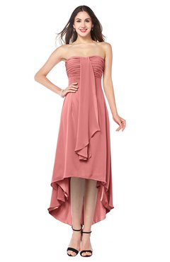 ColsBM Emilee Lantana Sexy A-line Sleeveless Half Backless Asymmetric Plus Size Bridesmaid Dresses