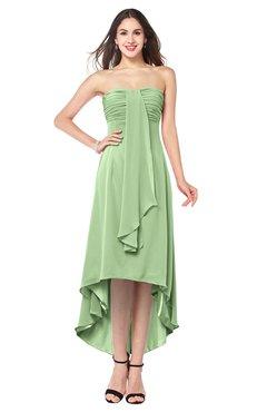 232e878cd25b3 ColsBM Emilee Sage Green Sexy A-line Sleeveless Half Backless Asymmetric  Plus Size Bridesmaid Dresses