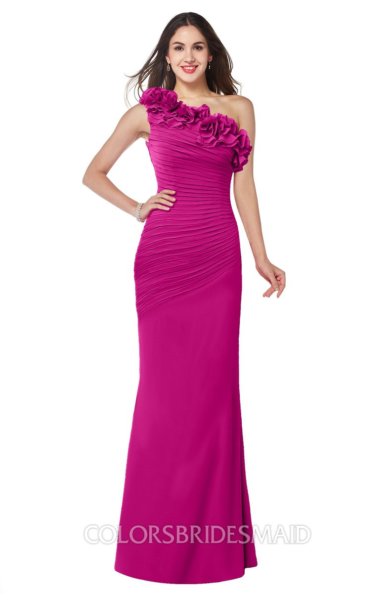 ColsBM Lisa Hot Pink Bridesmaid Dresses - ColorsBridesmaid