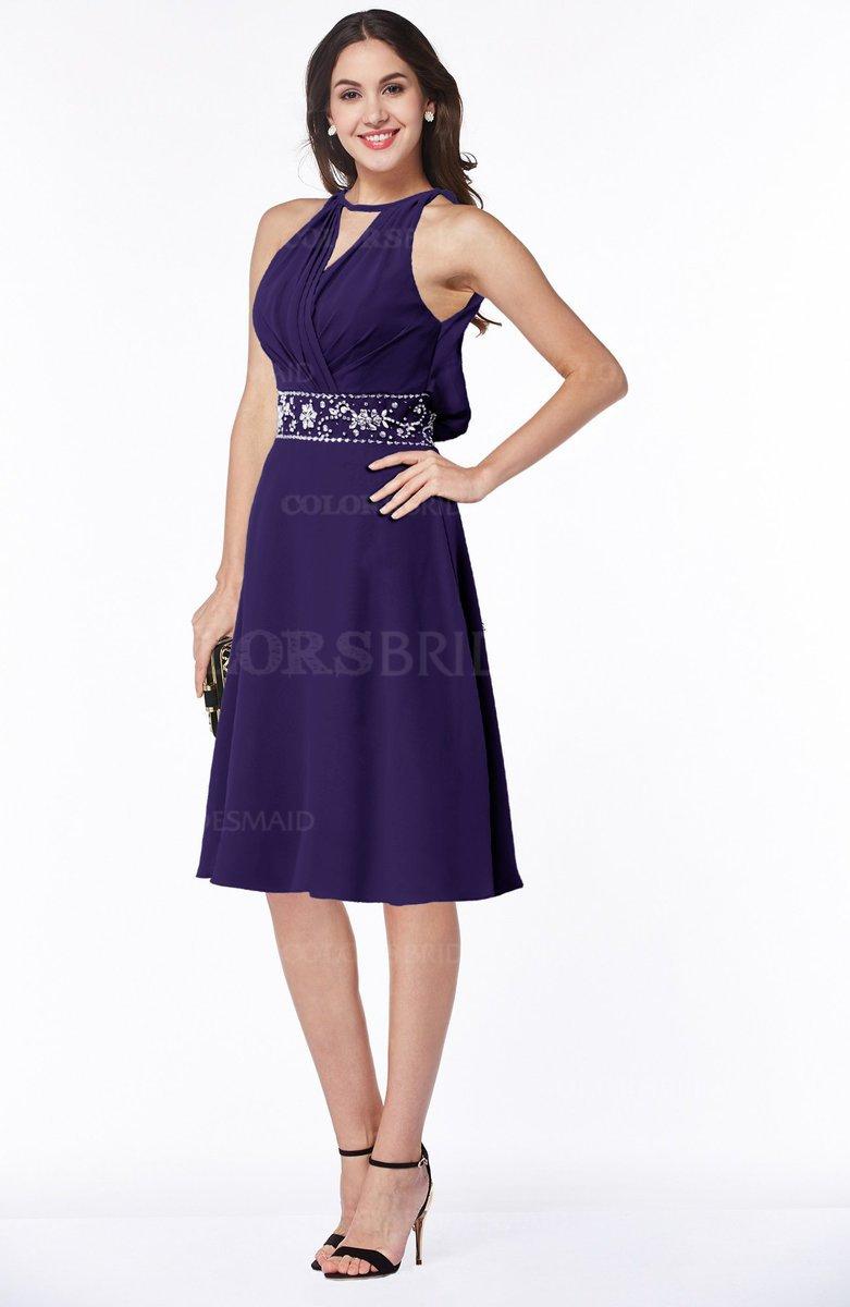 ColsBM Angelica - Royal Purple Bridesmaid Dresses