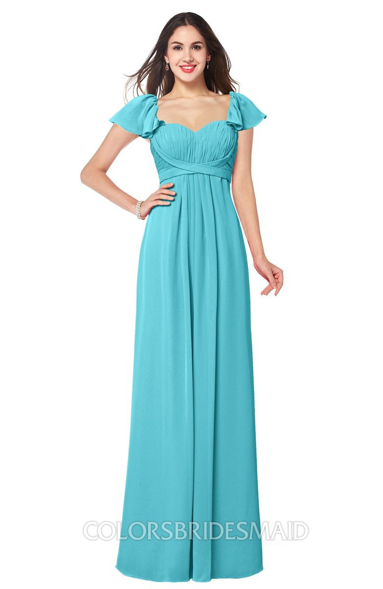 ColsBM Karla Turquoise Bridesmaid Dresses - ColorsBridesmaid