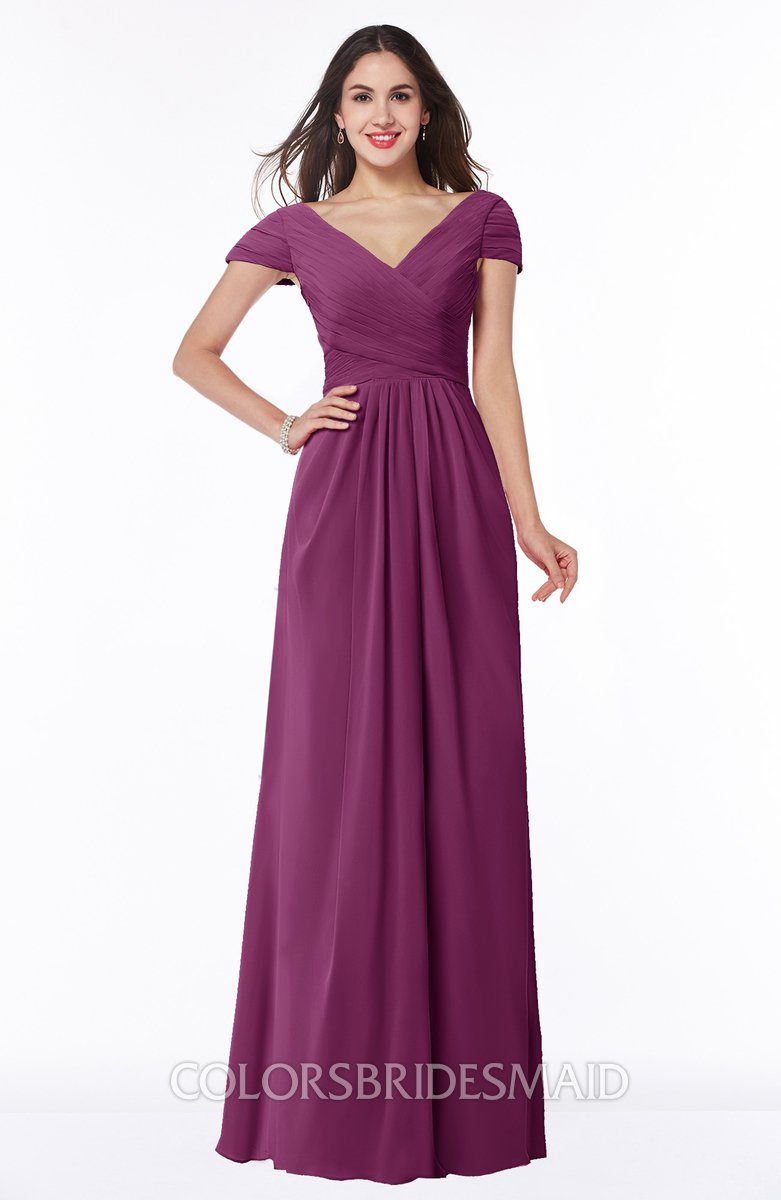 99376b6f70c Colsbm Evie Raspberry Bridesmaid Dresses Colorsbridesmaid