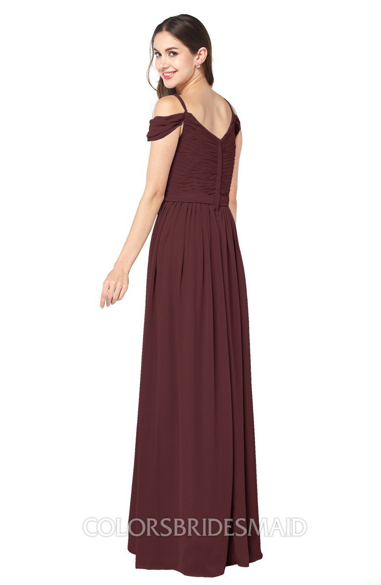 ColsBM Susan - Burgundy Bridesmaid Dresses