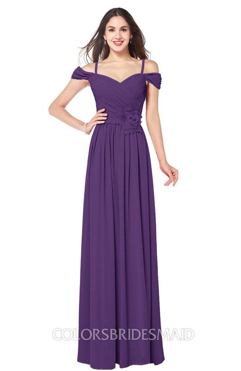 ColsBM Susan Dark Purple Bridesmaid Dresses - ColorsBridesmaid