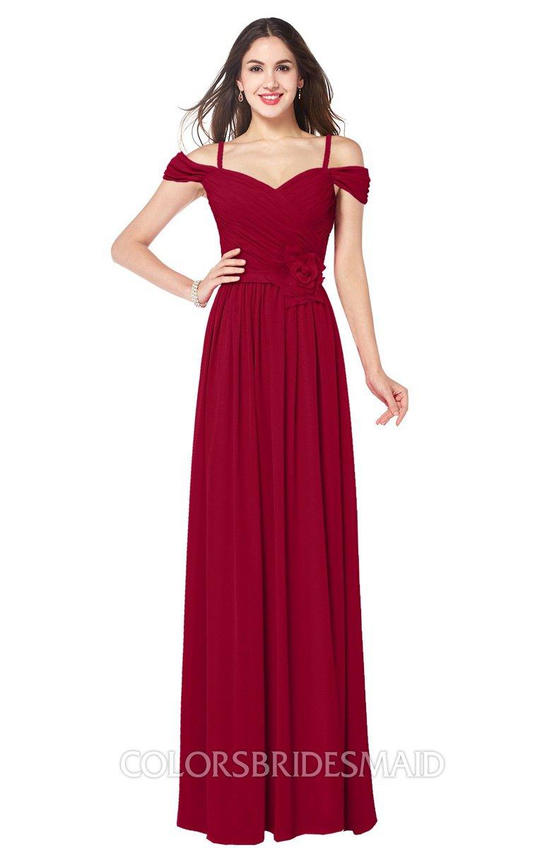 ColsBM Susan - Dark Red Bridesmaid Dresses