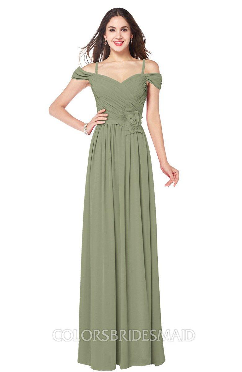 ColsBM Susan Moss Green Bridesmaid Dresses - ColorsBridesmaid