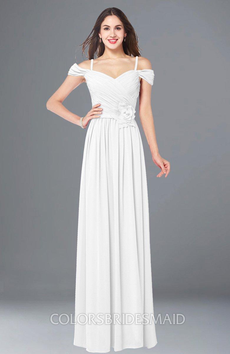 ColsBM Susan White Bridesmaid Dresses - ColorsBridesmaid