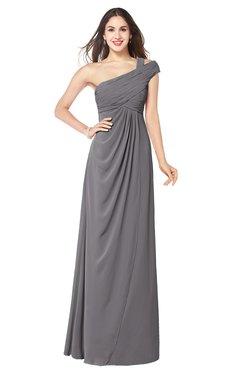 ColsBM Bethany Storm Front Modern A-line Sleeveless Chiffon Floor Length Plus Size Bridesmaid Dresses
