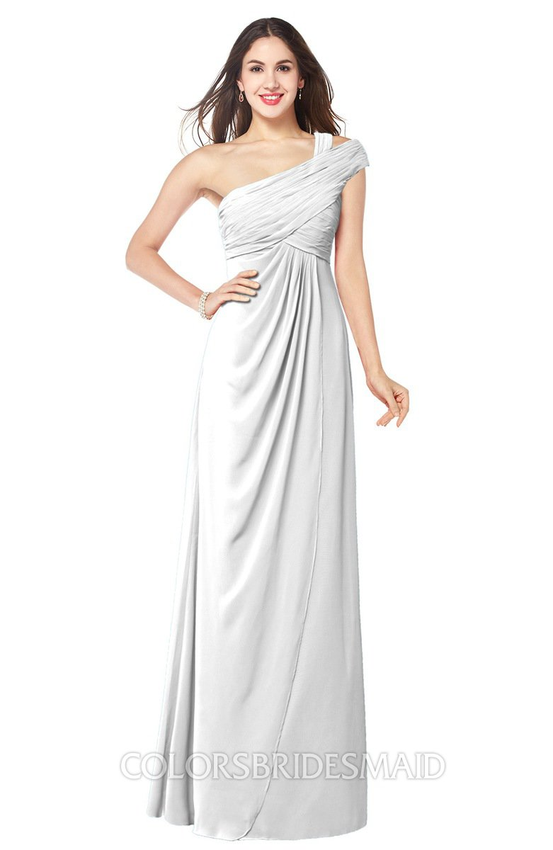 White modern a line sleeveless chiffon floor length plus for Chiffon plus size wedding dresses