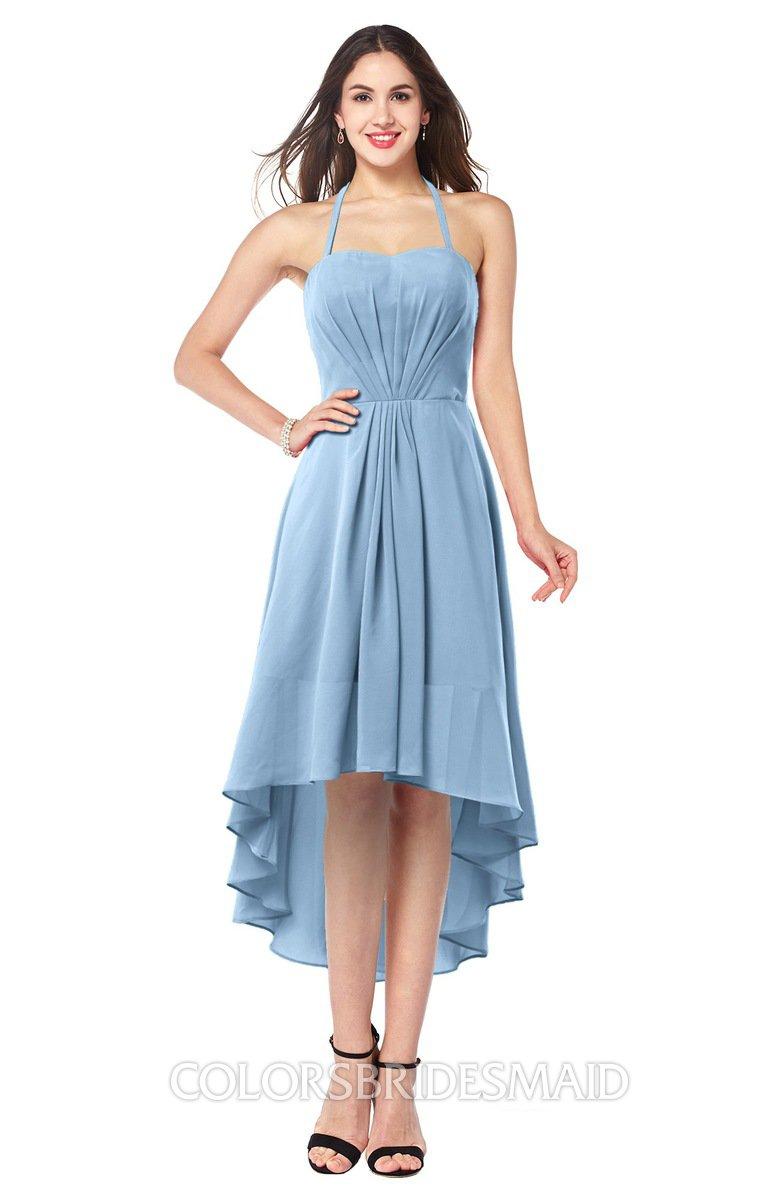 ColsBM Hannah Dusty Blue Bridesmaid