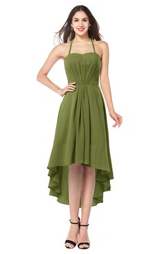 9175d84cfd2 ... colsbm hannah olive green casual a line halter half backless asymmetric  ruching plus size bridesmaid · olive green bridesmaid dresses ...