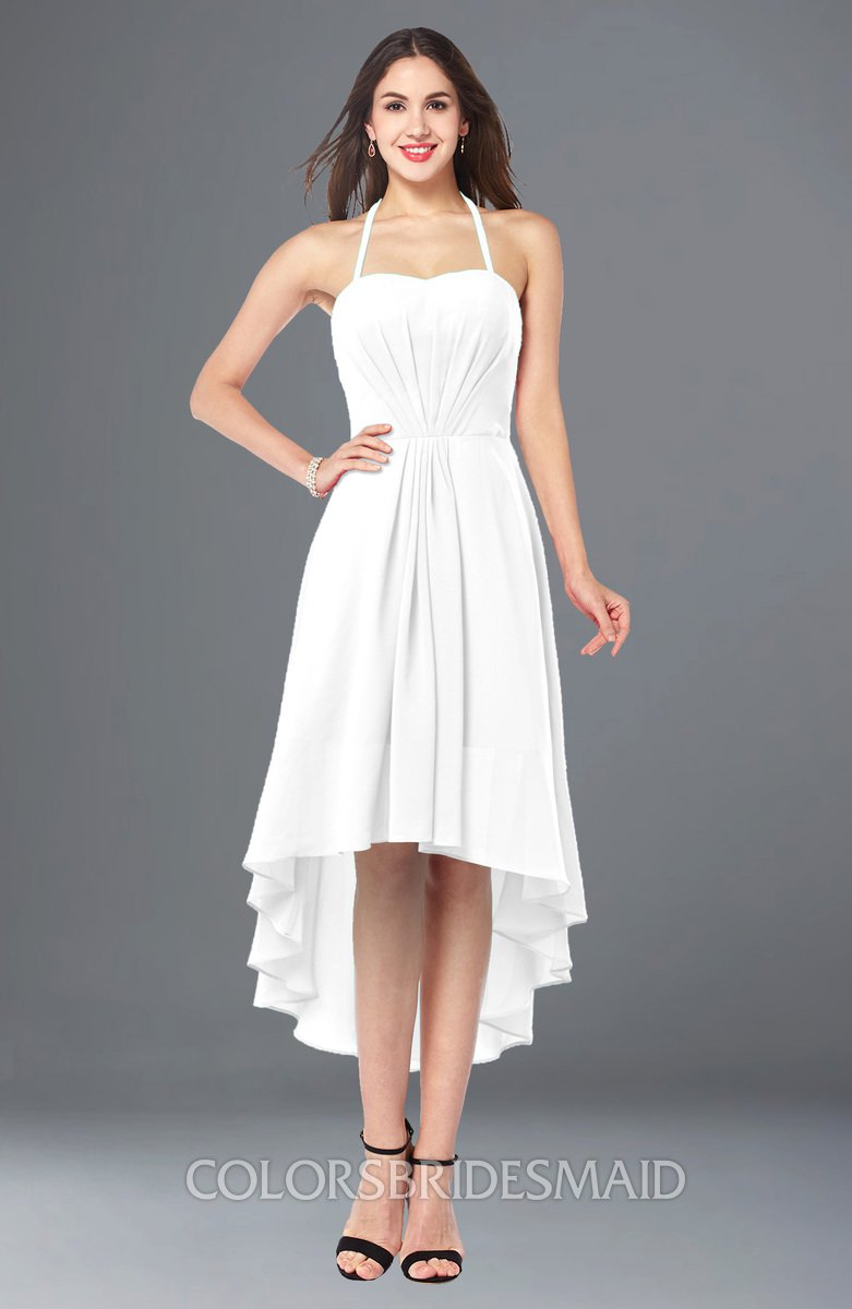 ColsBM Hannah White Bridesmaid Dresses - ColorsBridesmaid