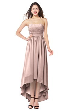 56967357f4cd ColsBM Autumn Dusty Rose Simple A-line Sleeveless Zip up Asymmetric Ruching  Plus Size Bridesmaid