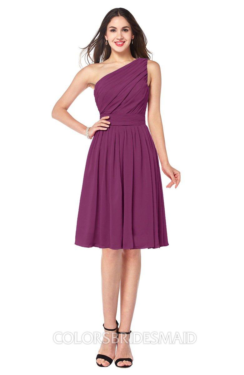 ColsBM Lorelei Raspberry Bridesmaid Dresses - ColorsBridesmaid