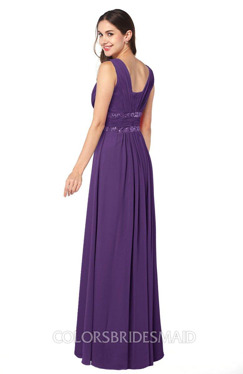ColsBM Kelly - Dark Purple Bridesmaid Dresses