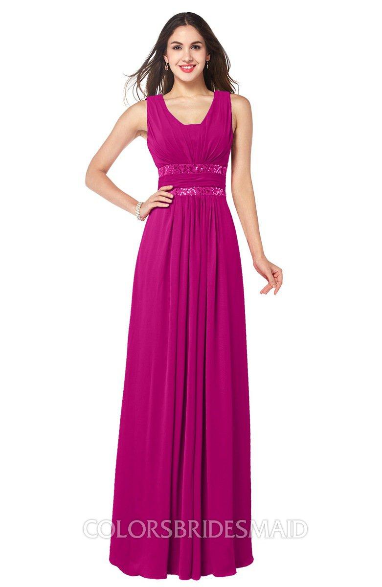 ColsBM Kelly - Hot Pink Bridesmaid Dresses