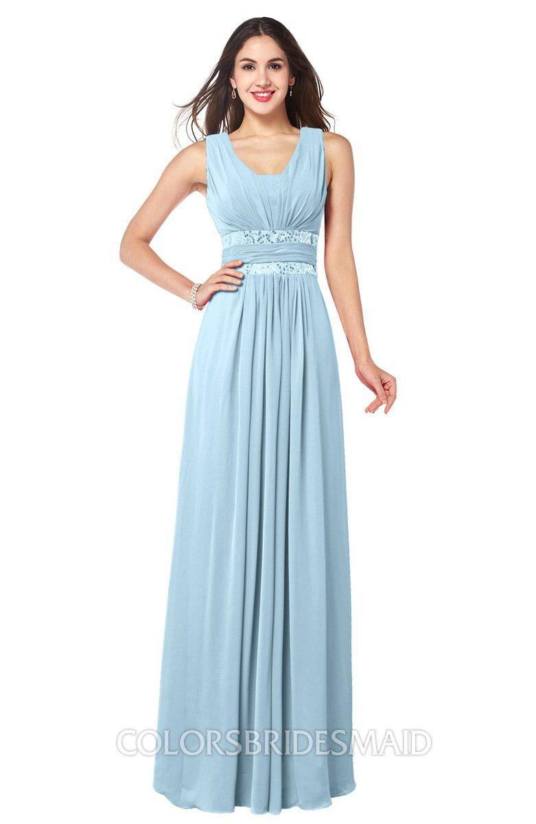 ColsBM Kelly Ice Blue Bridesmaid Dresses - ColorsBridesmaid