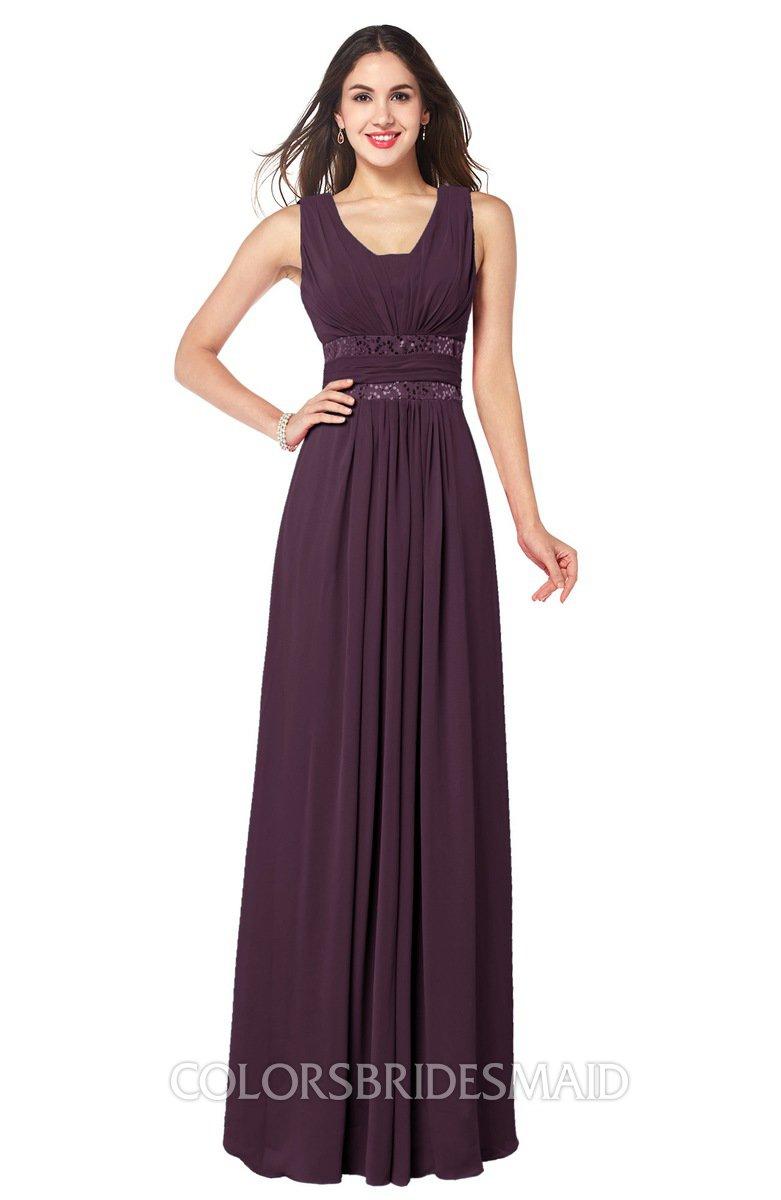 ColsBM Kelly Plum Bridesmaid Dresses - ColorsBridesmaid