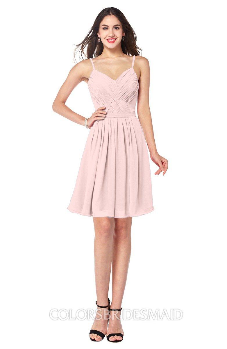 Simple Scarlet Dress