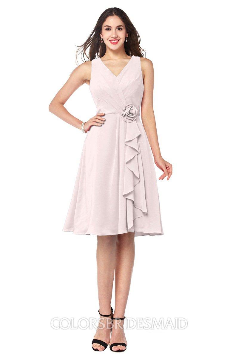 ColsBM Melissa - Light Pink Bridesmaid Dresses