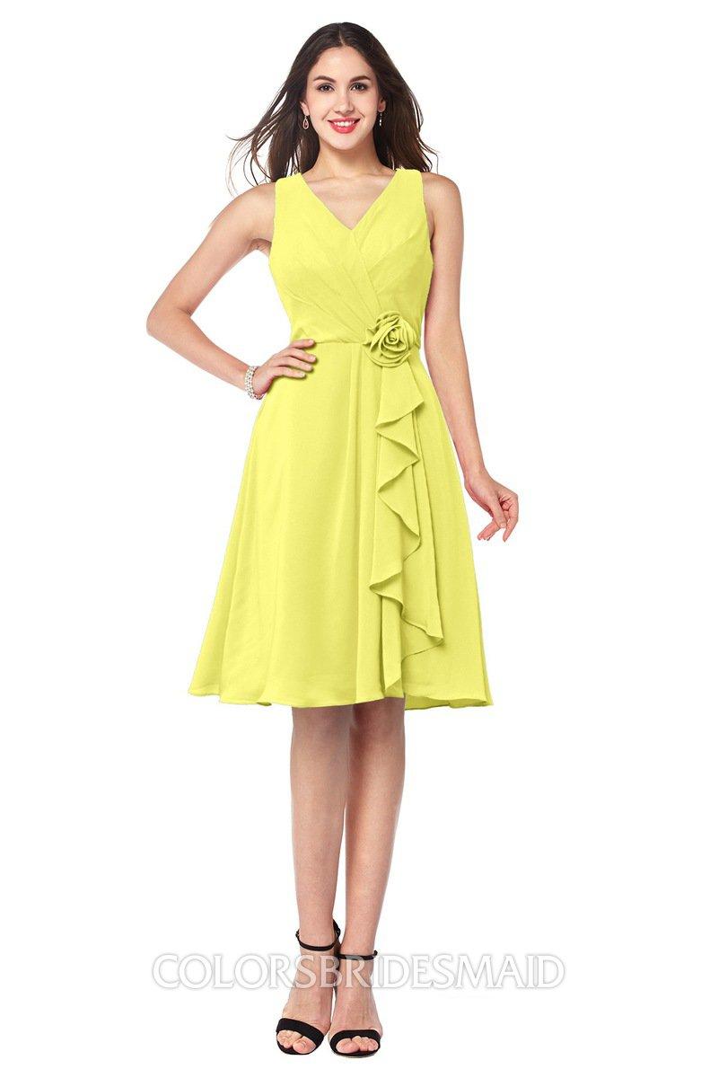 ColsBM Melissa Pale Yellow Bridesmaid Dresses - ColorsBridesmaid
