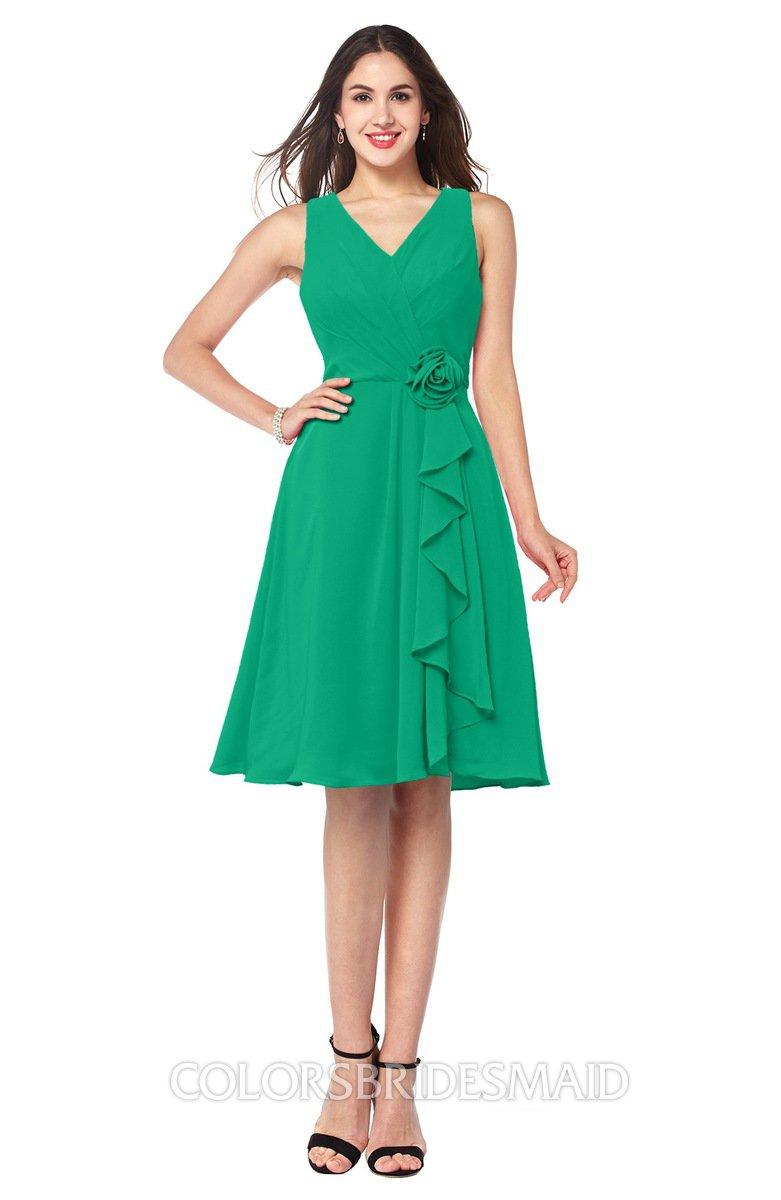 ColsBM Melissa Pepper Green Bridesmaid Dresses - ColorsBridesmaid