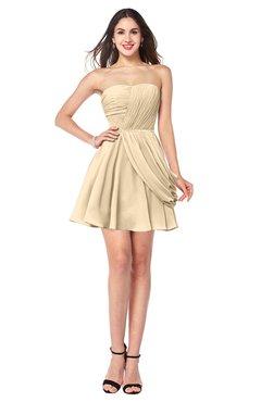 ColsBM Noelle Marzipan Elegant A-line Strapless Sleeveless Zip up Sequin Plus Size Bridesmaid Dresses