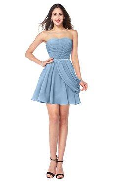 bridesmaid dresses sky blue