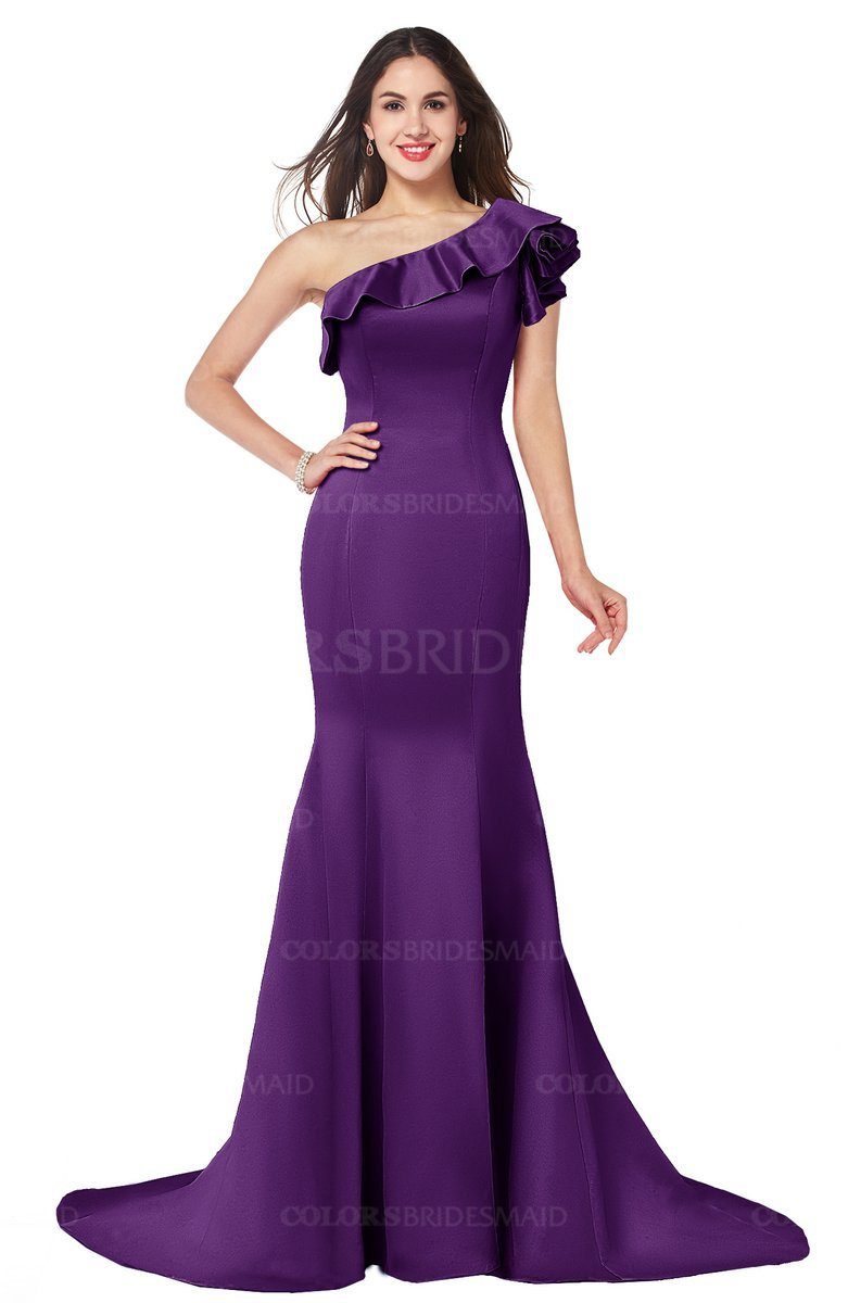 ColsBM Abigail Amaranth Purple Bridesmaid Dresses - ColorsBridesmaid