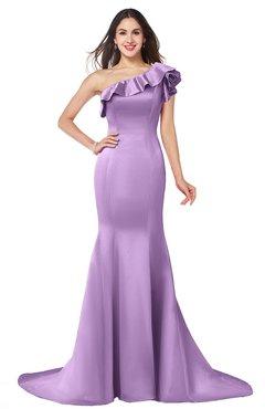 ColsBM Abigail Begonia Elegant Fishtail Sleeveless Zip up Satin Ruffles Bridesmaid Dresses