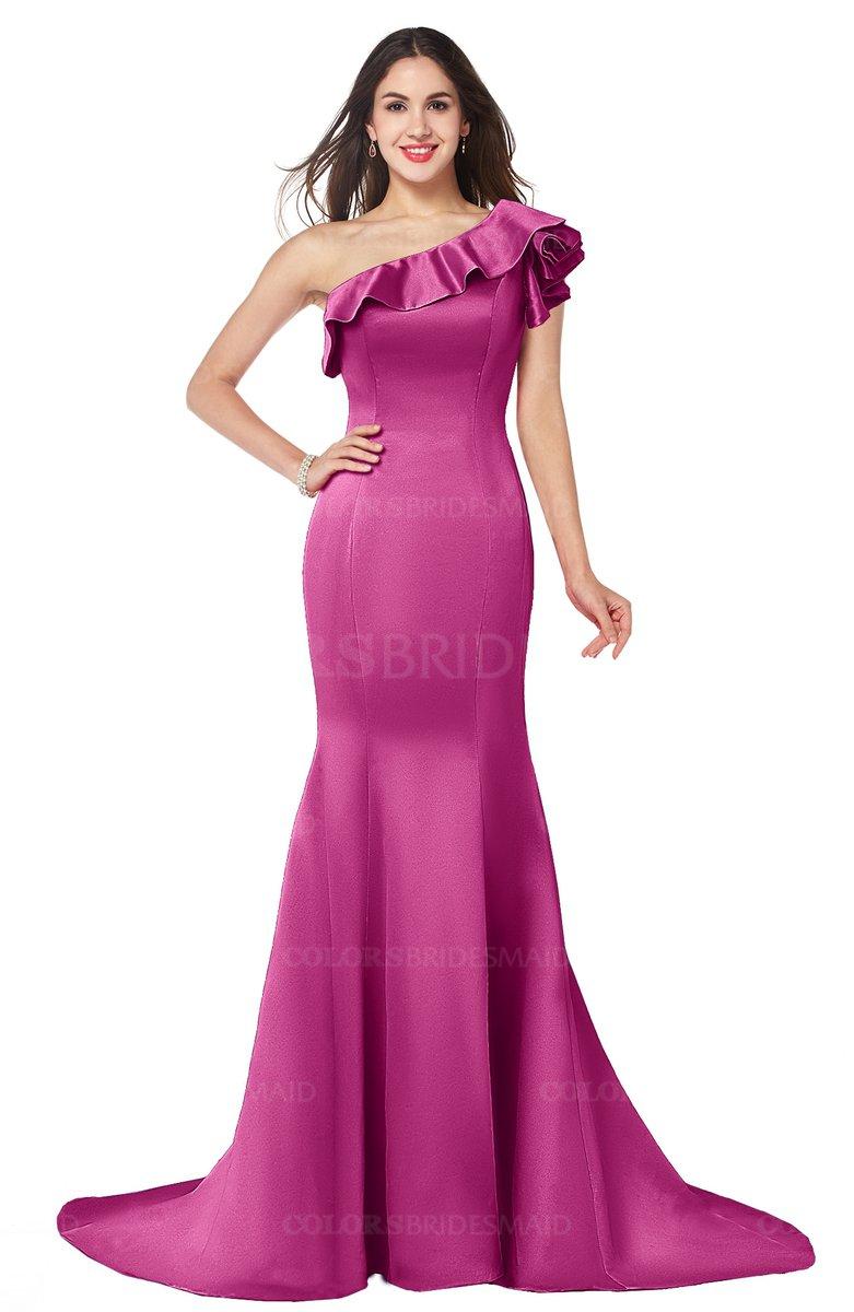 ColsBM Abigail Hot Pink Bridesmaid Dresses - ColorsBridesmaid