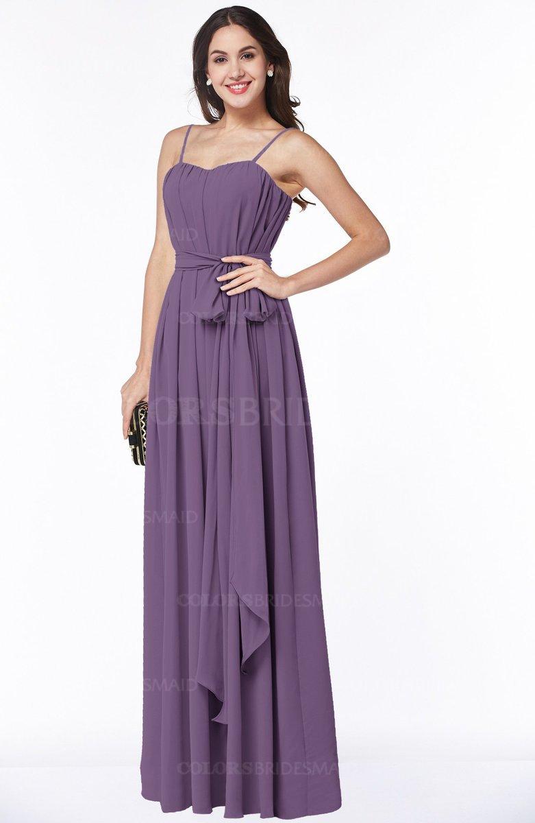 ColsBM Dahlia Eggplant Bridesmaid Dresses - ColorsBridesmaid