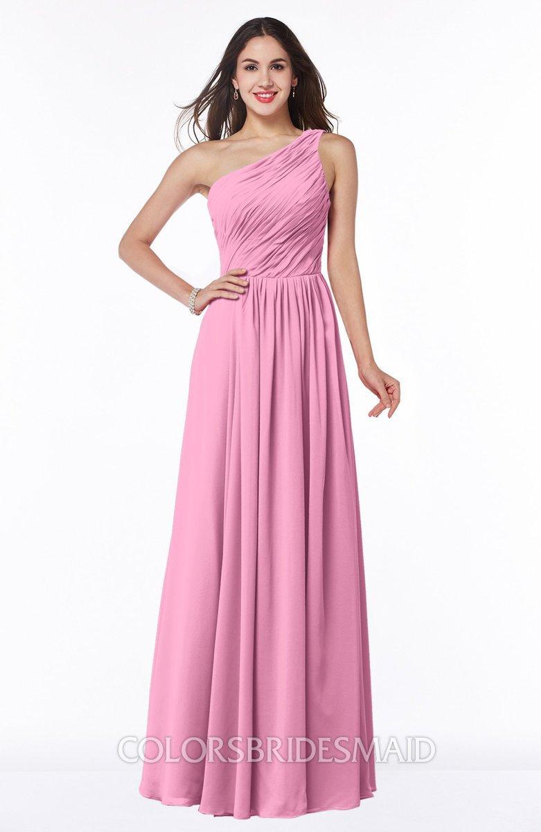 ColsBM Nancy Pink Bridesmaid Dresses - ColorsBridesmaid
