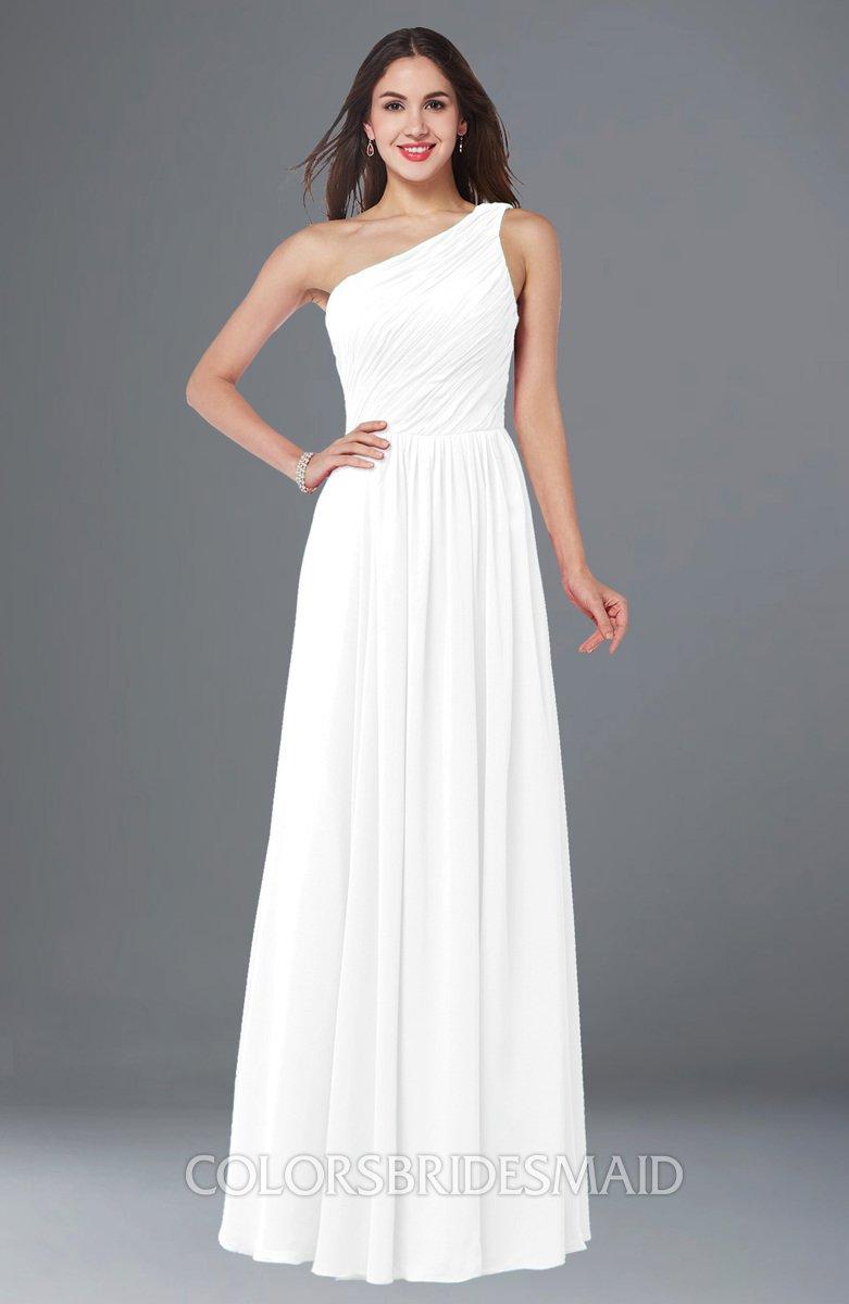 ColsBM Nancy - White Bridesmaid Dresses
