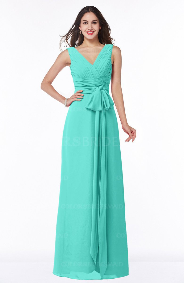 ColsBM Pearl Blue Turquoise Bridesmaid Dresses - ColorsBridesmaid