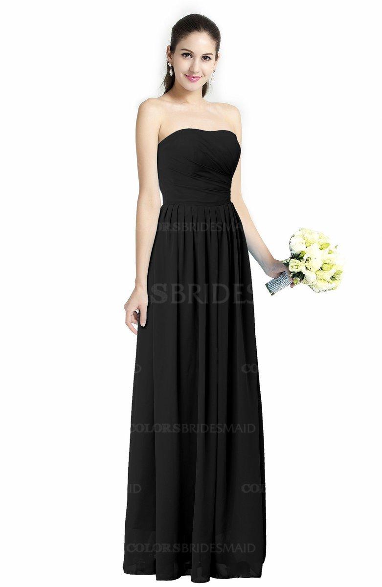 ColsBM Alisson - Black Bridesmaid Dresses
