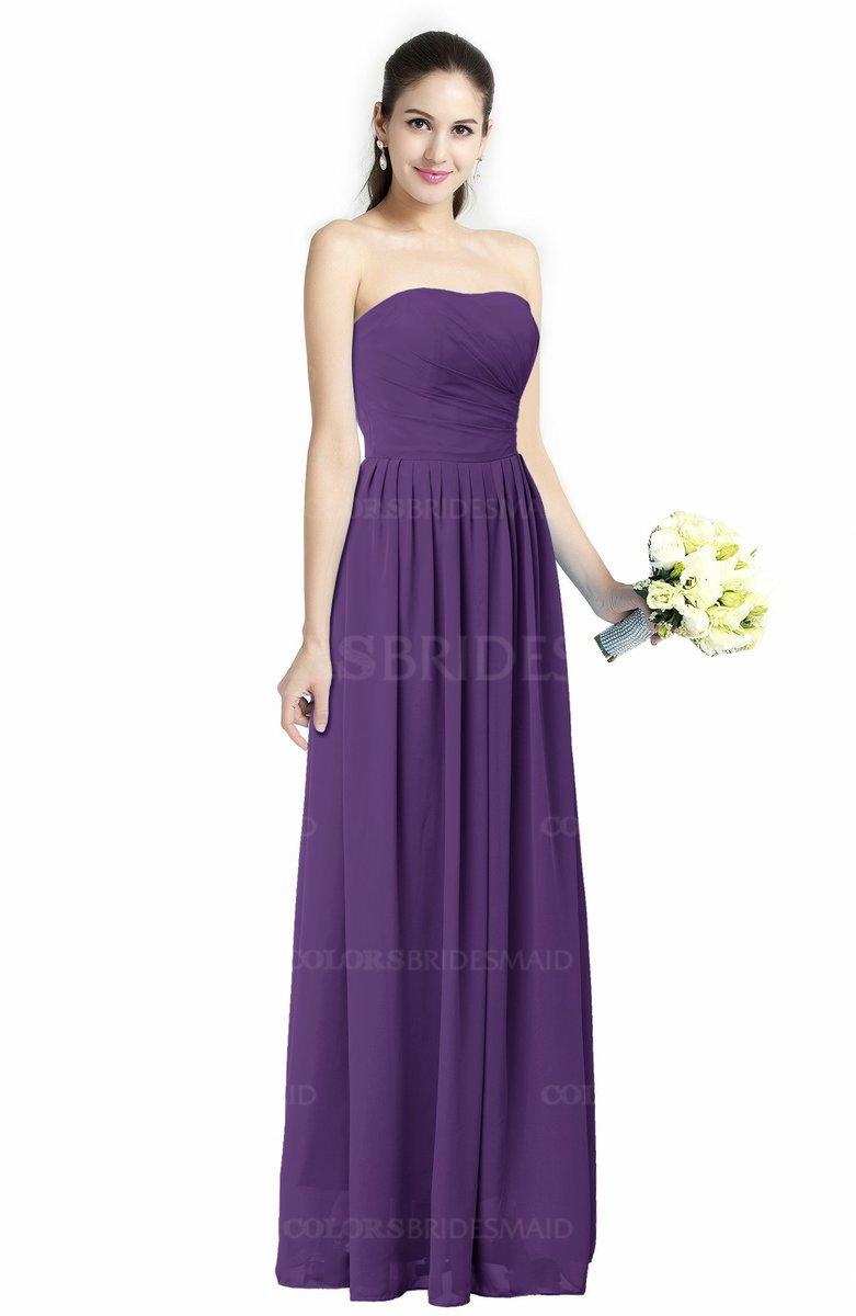 ColsBM Alisson Dark Purple Bridesmaid Dresses - ColorsBridesmaid