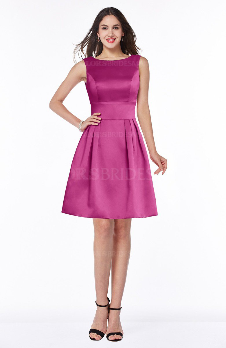 Colsbm Kassidy Hot Pink Bridesmaid Dresses