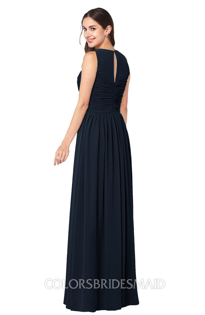 ColsBM Carla - Navy Blue Bridesmaid Dresses
