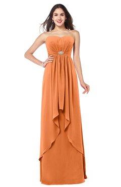 feeb5c03802 ColsBM Nathalie Mango Sexy A-line Sweetheart Sleeveless Floor Length  Rhinestone Plus Size Bridesmaid Dresses