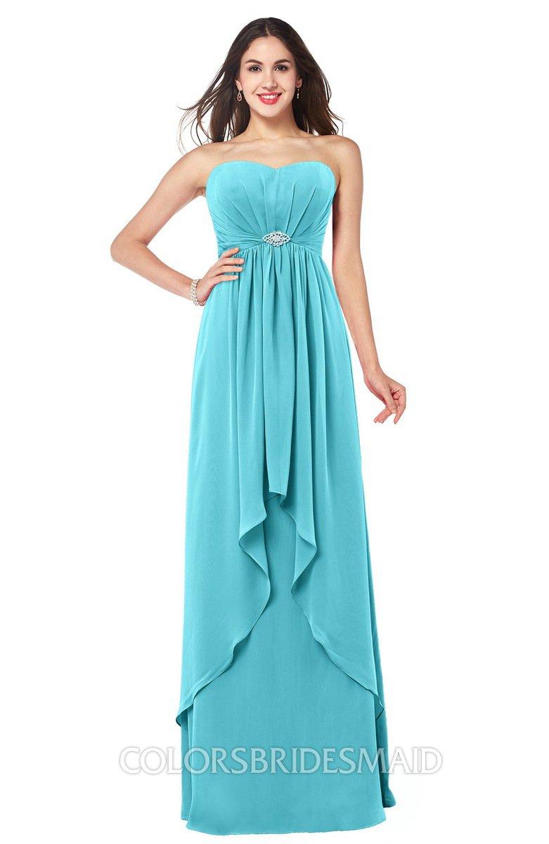 ColsBM Nathalie Turquoise Bridesmaid Dresses - ColorsBridesmaid