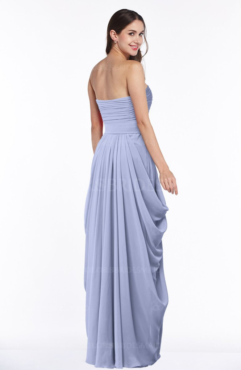 3a2efb7d6919 ColsBM Wren Blue Heron Informal Sleeveless Half Backless Chiffon Floor  Length Plus Size Bridesmaid Dresses