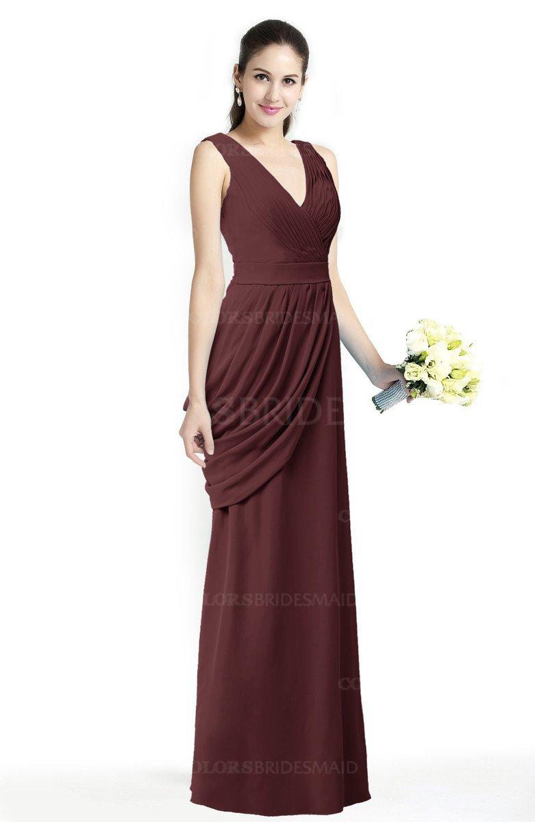 ColsBM Nora - Burgundy Bridesmaid Dresses