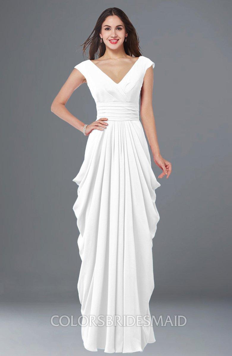 ColsBM Alice - White Bridesmaid Dresses