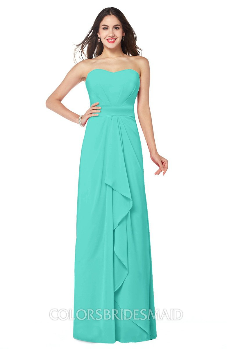 ColsBM Angelina Blue Turquoise Bridesmaid Dresses - ColorsBridesmaid