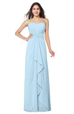 ice blue bridesmaid dresses