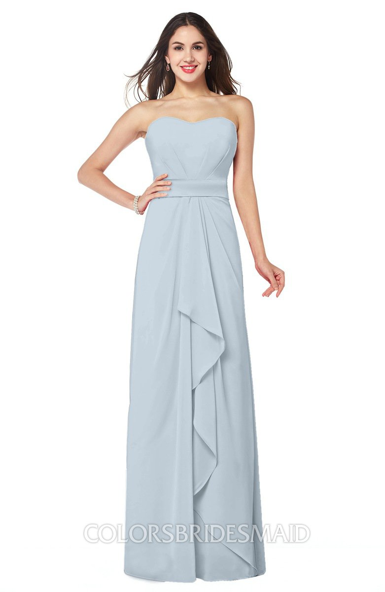 ColsBM Angelina Illusion Blue Bridesmaid Dresses - ColorsBridesmaid