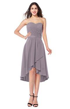 ColsBM Karina Cameo Elegant A-line Strapless Sleeveless Ruching Plus Size Bridesmaid Dresses