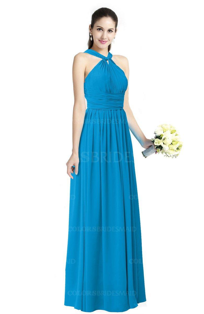 ColsBM Willa Cornflower Blue Bridesmaid Dresses - ColorsBridesmaid